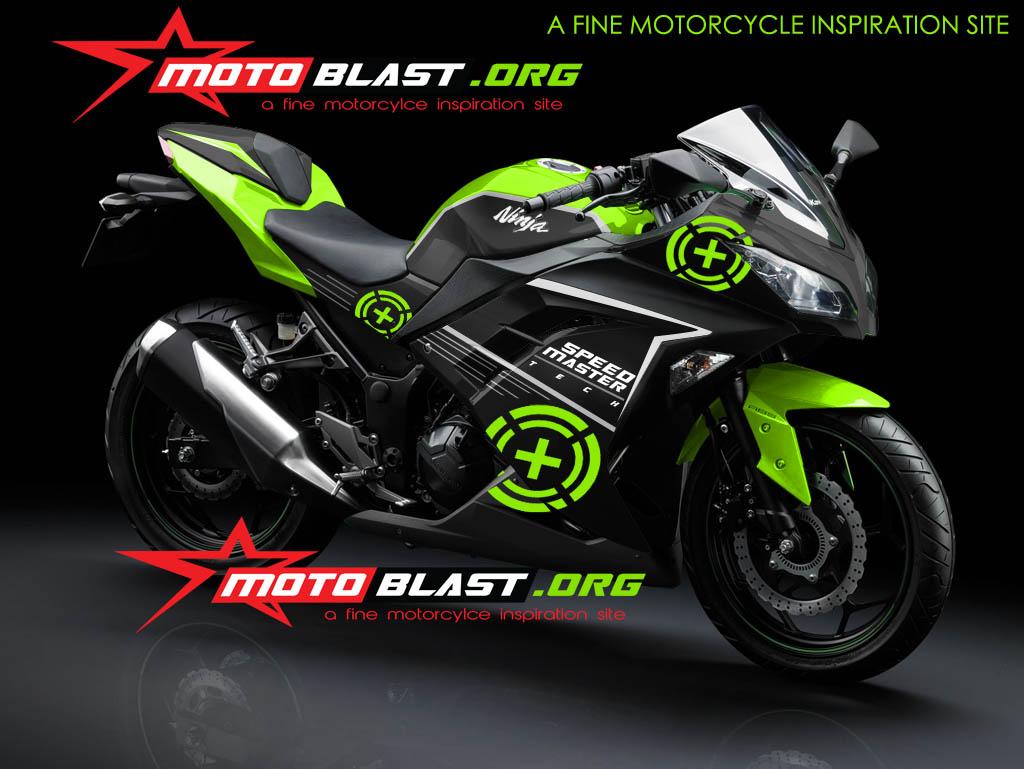 Variasi motor ninja 250 fi modifikasi motor terbaru