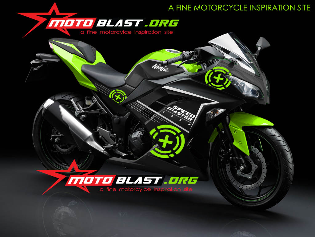 Variasi Motor Ninja 250 Fi  paling bagus