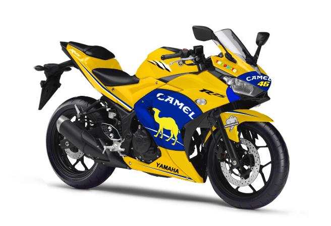 Yamaha R25 Modifikasi Motogp  paling bagus