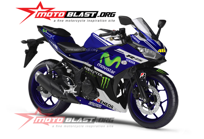 Yamaha R25 Modifikasi Gp ide