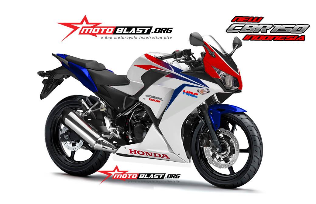 Honda Cbr150 Lokal Indonesia Tampak Perspektif Motoblast