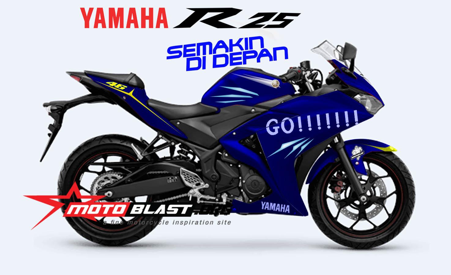 Yamaha R25 Modifikasi Motogp ide