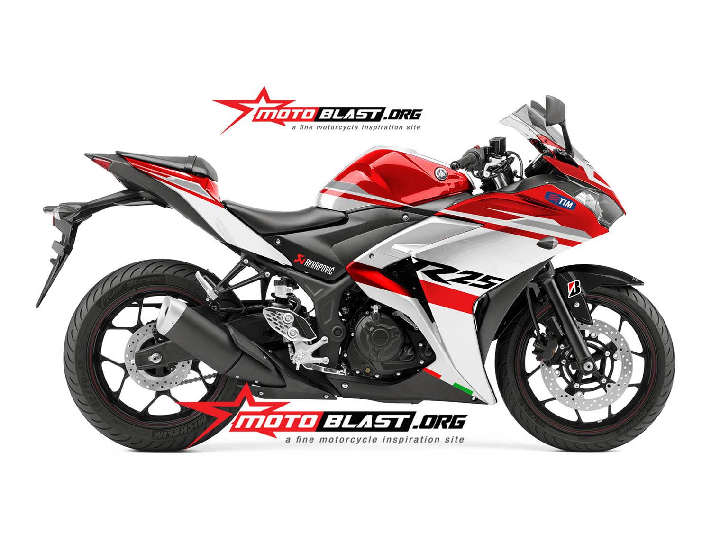 kumpulan Yamaha R25 Modifikasi Motogp