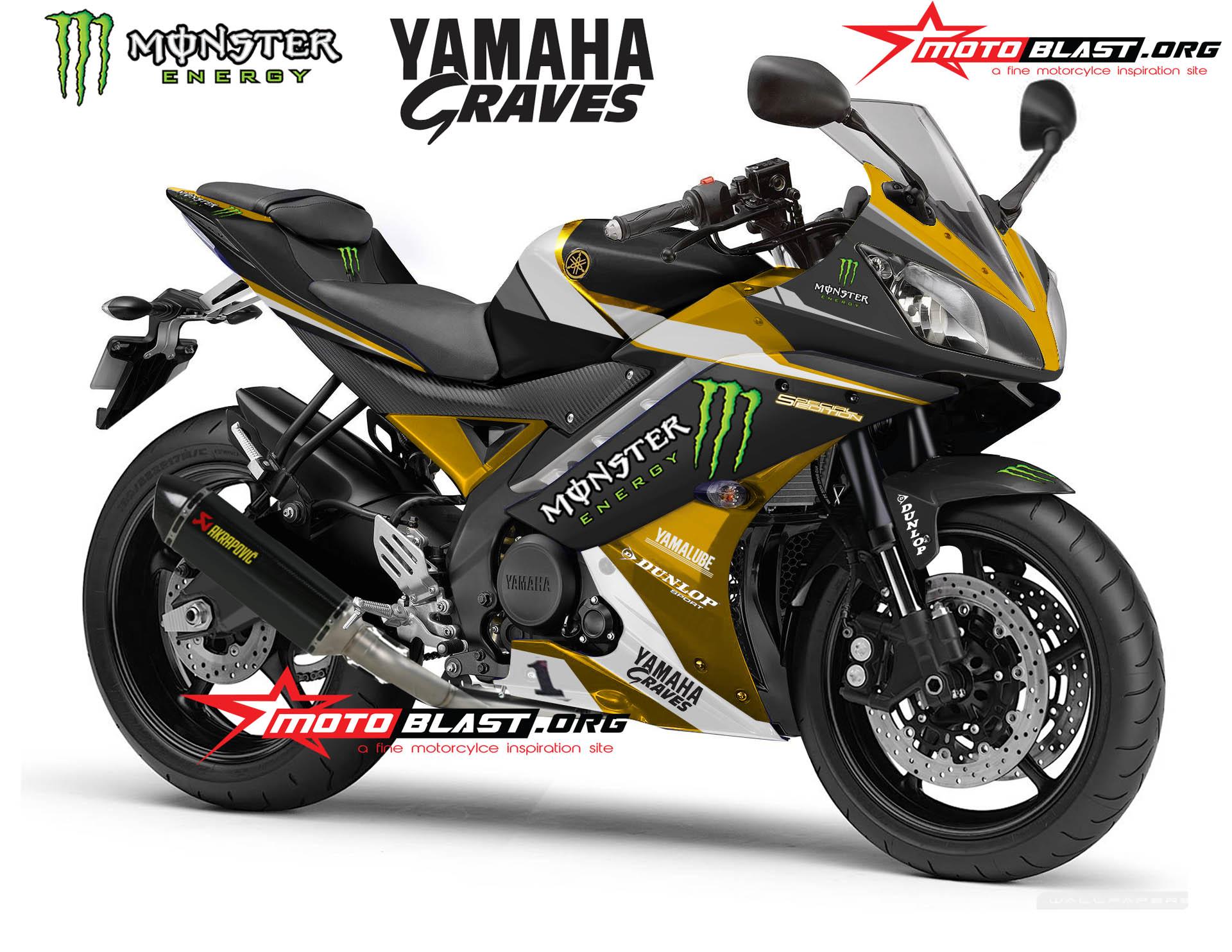 terbaru modifikasi yamaha r15 hitam