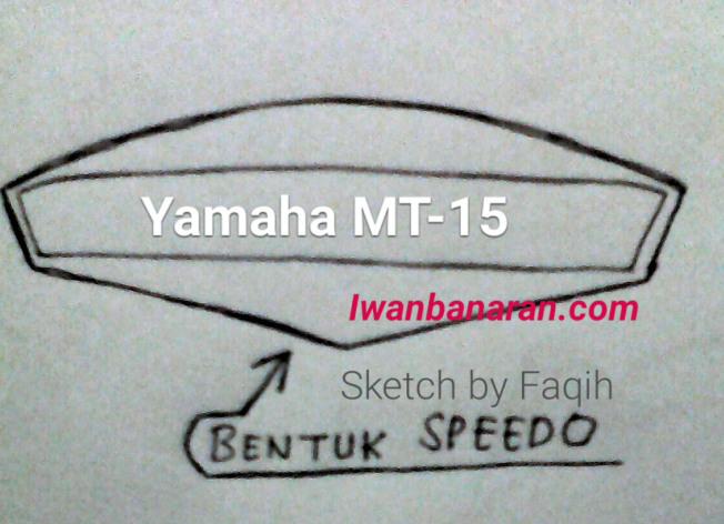 hotperkiraan sket shape desain speedometer yamaha mt