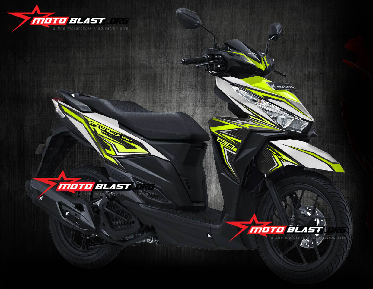 Cuting Decal Custom Vario 150