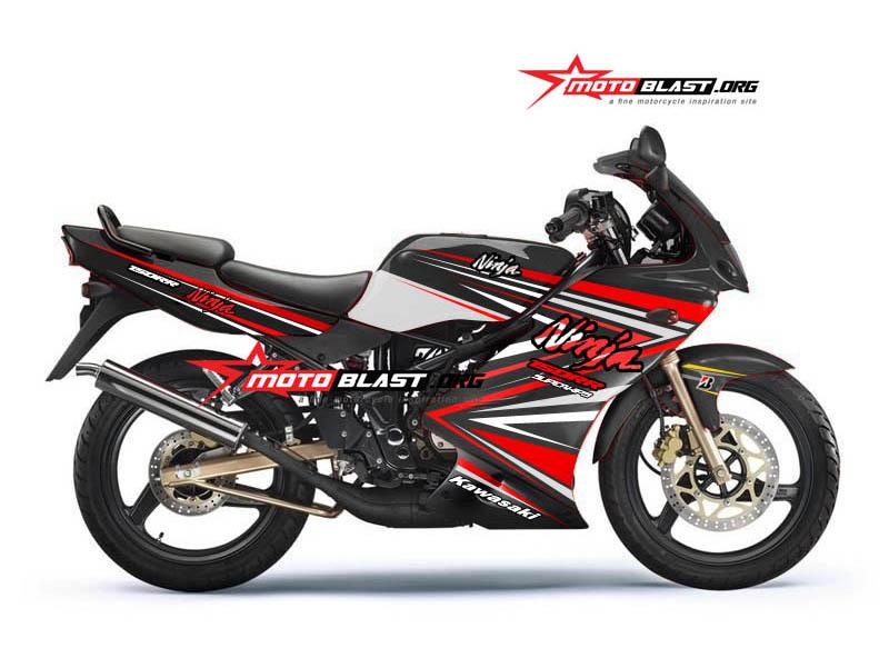 NINJA KRR150-BLACK motoblast