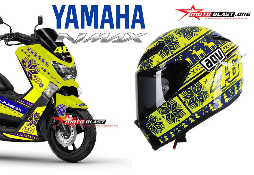 NMAX BLACK AGV CORSA WINTER TEST-motoblast3