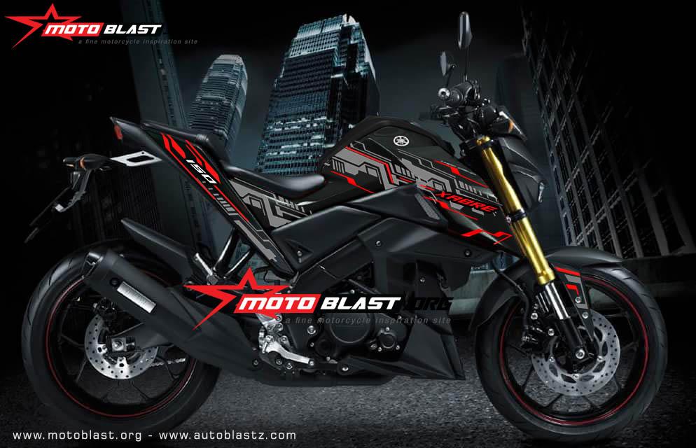XABRE black HITECH motoblast