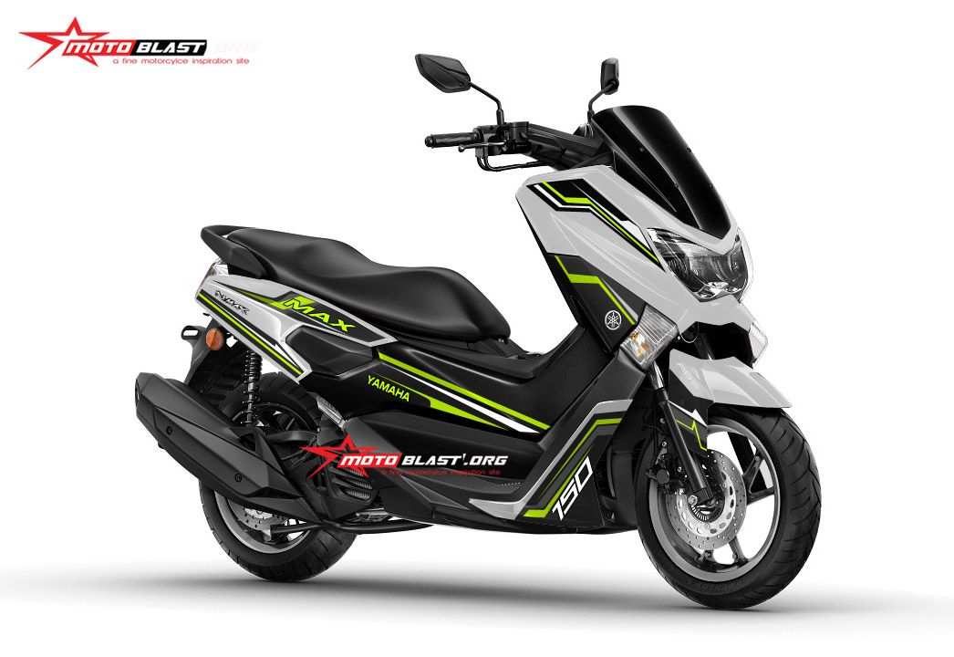 Modifikasi Striping Yamaha Nmax Terbaru