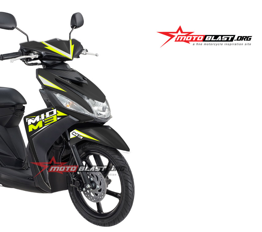 modifikasi striping mio m3  paling bagus