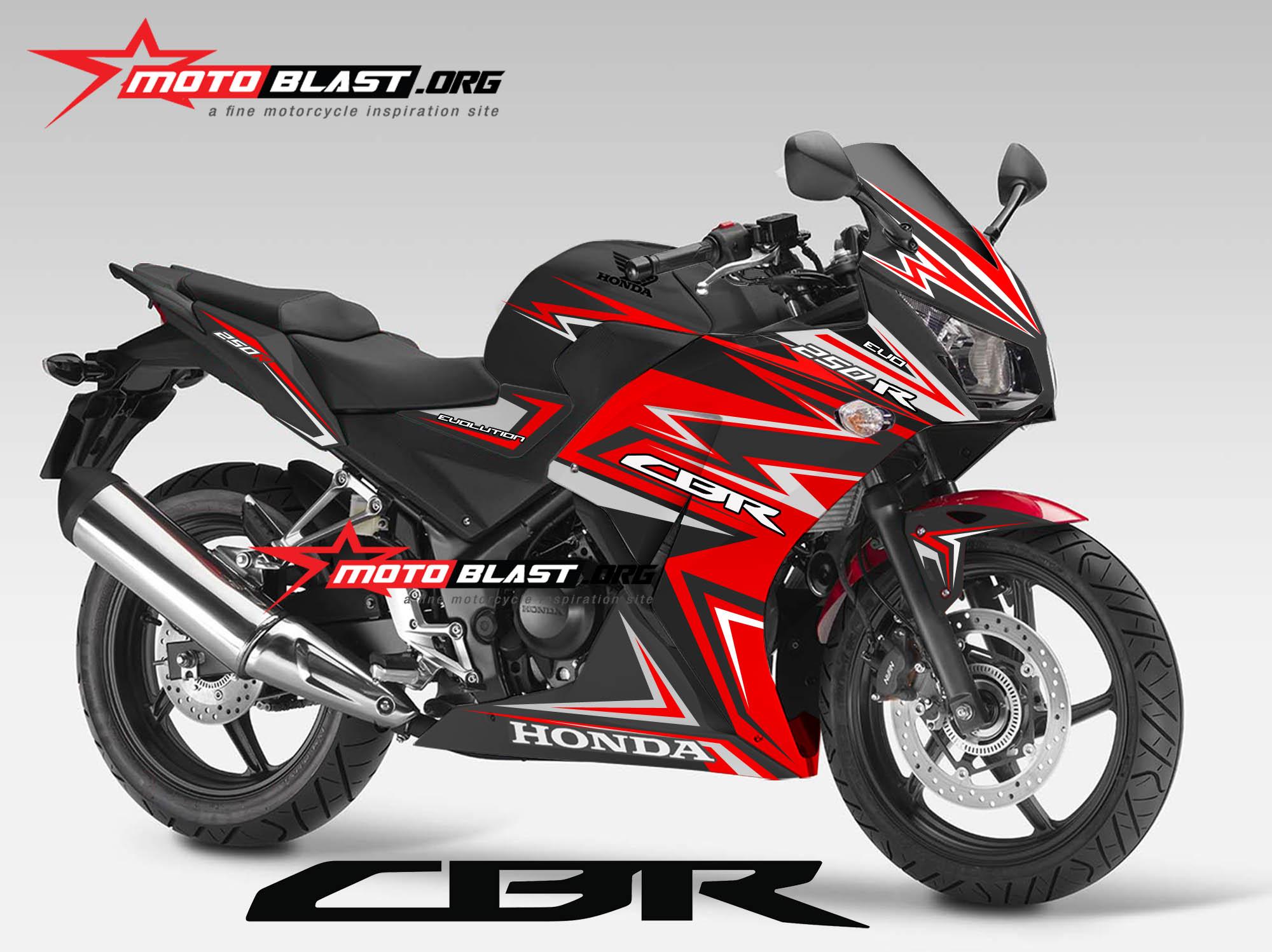 Modif CBR150R 2016 Stiker