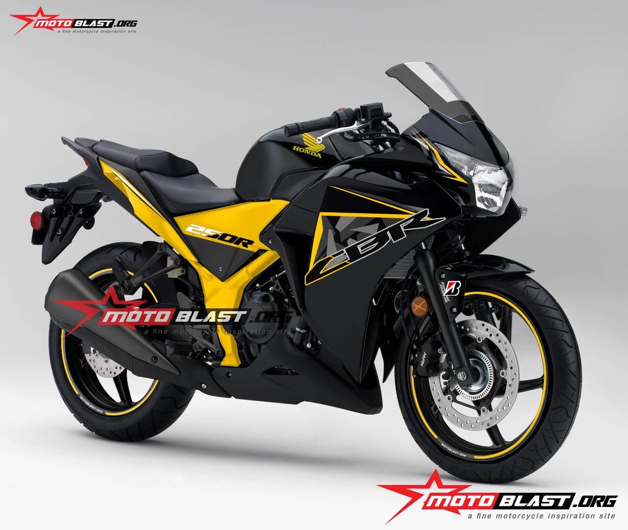 konsep modifikasi custom honda cbrr thailand motoblast