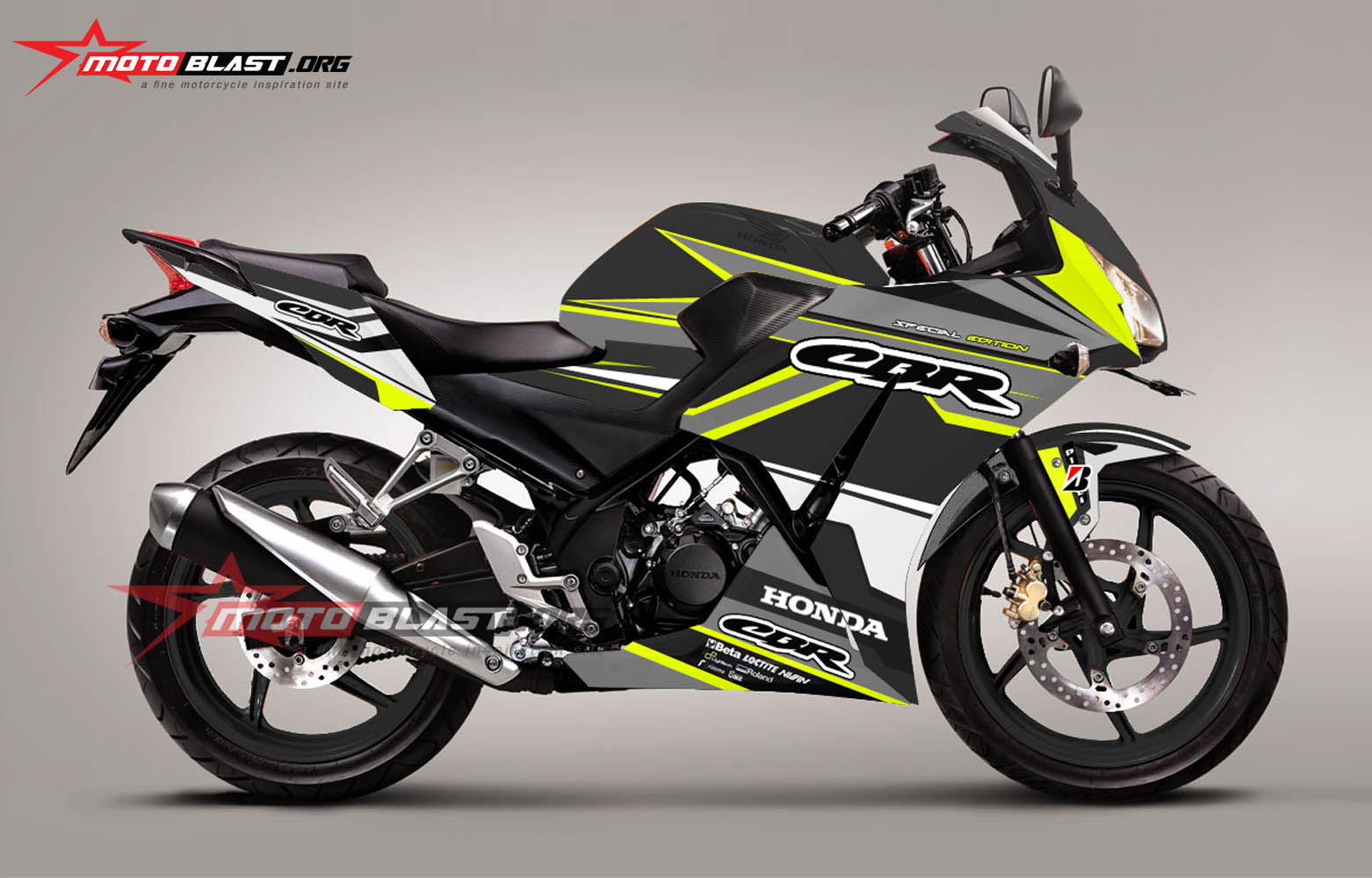 Graphic Kit Honda CBR150R Lokal k45 Black sporty