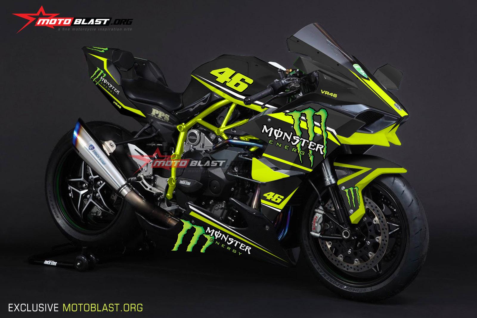 99 Gambar Motor Kawasaki Ninja H2r Terlengkap Modifku Asyik