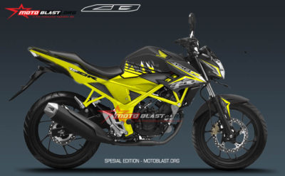 Graphic Kit Honda New CB150R Black Yellow SE