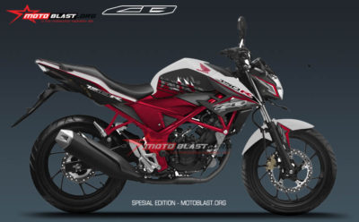 Graphic Kit Honda New CB150R White SE Motoblast