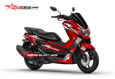 Graphic Kit Yamaha NMAX RED Alpinestar 69