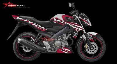 Graphic Kit Yamaha New Vixion Advance White RED FRESH