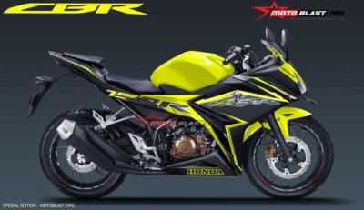 Honda All New CBR150R Black Super Yellow