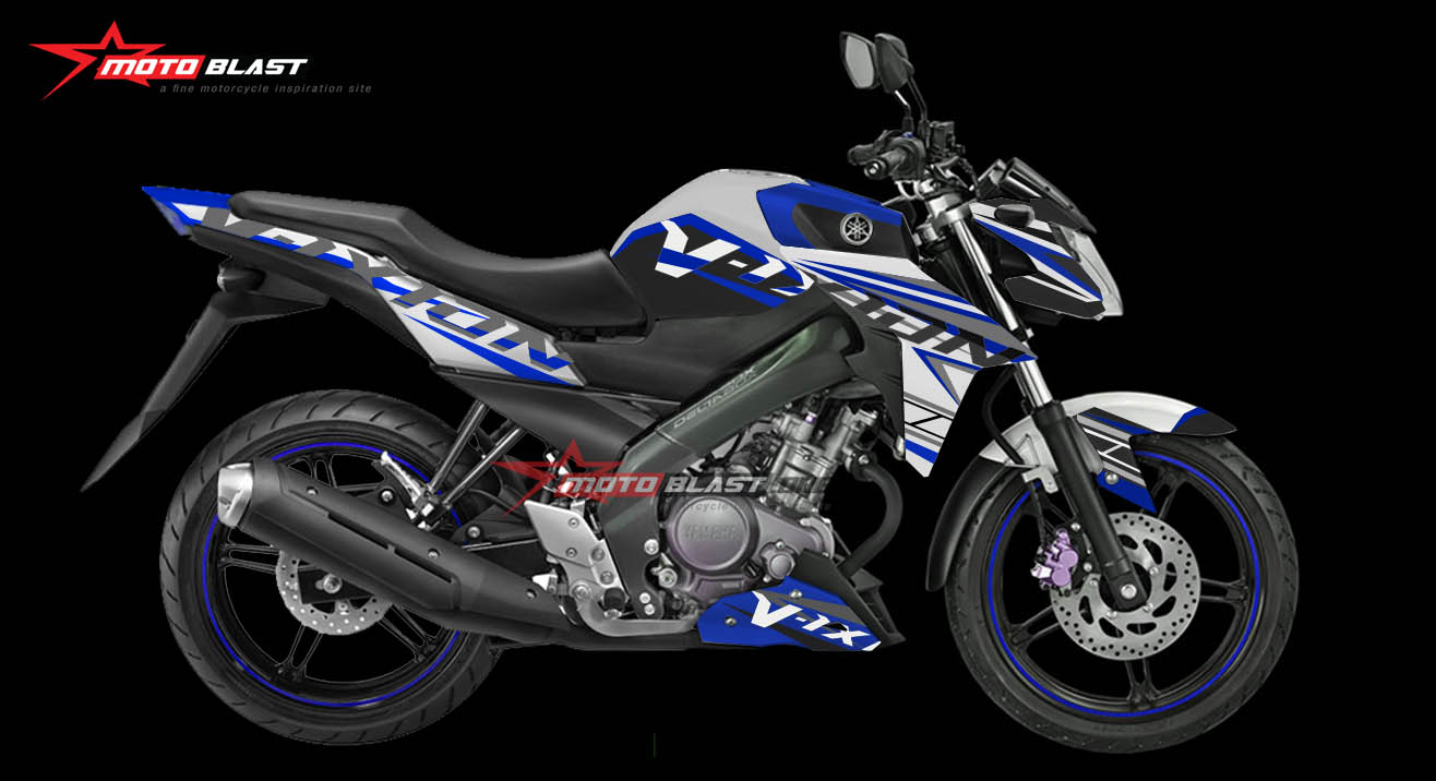 Yamaha New Vixion Advance Blue Edition
