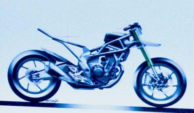 Ini dia Basic Engine dan Frame Honda CBR250RR, Siap untuk Versi Naked dan Touring X series nih!