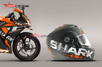 Modifikasi Striping Honda CBR150R Lokal Repsol – Shark Orange