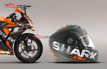Modifikasi Striping Honda CBR150R Lokal Repsol – Shark Orange