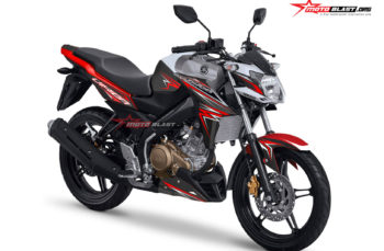 Desain Decal stiker Kit Yamaha New Vixion Advance 2016 Grey white red – Thunder