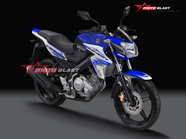 Modifikasi Yamaha New Vixion Lighting New Thunder ( Basic RED and GP )