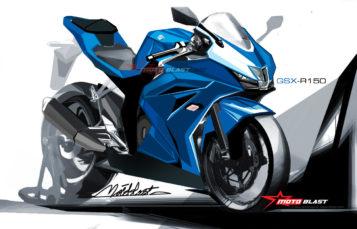 Rumorr : Suzuki GSX R-150 menjadi penantang baru cbr150r dan r15, di banderol 27 jutaan dengan power 21-23hp!