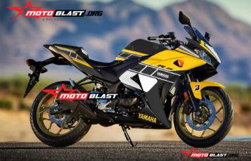 Modifikasi Striping Yamaha R25 Black Anniversary