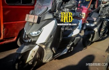 Wajah jelas Yamaha XMAX 250! Sadiss