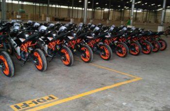 Wah Distribusi KTM 200 – 250 dimulai senin 24 oktober esok, bagi penginden siap siap segera dapat unit!