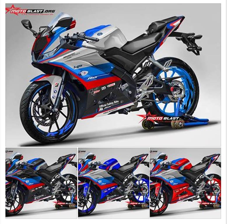 all varian r15 v3 safetycar motogp bmw | MOTOBLAST