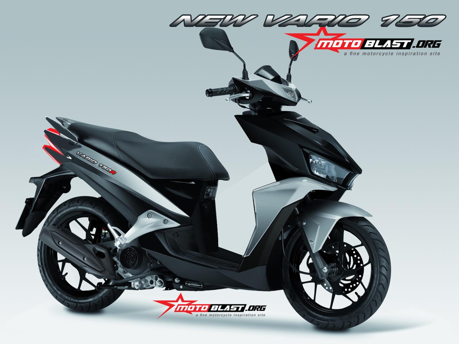 renderan all new vario 150 facelift